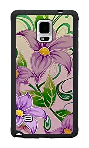 Purple Flowers #2 - Case for Samsung Galaxy Note 4