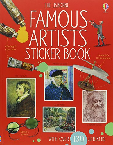 Famous Artists Sticker Book (Sticker Reference)