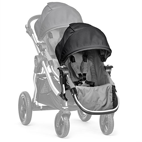 Baby Jogger City Select Second Seat Kit - Gray/Black by Baby Jogger
