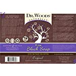 Dr. Woods Raw African Black Liquid Soap with Organic Shea Butter 5 Ultra moisturizing cleanser All natural and eco-friendly Helps clear skin blemishes