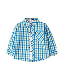 Evelin LEE Baby Boys Long Sleeve Plaid Shirt Tops Outfits