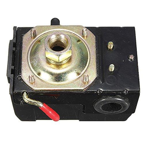 Air Compressor Pressure Switch Control Valve 95-125 PSI Single Port (Oil Furnace Fuel Pump compare prices)