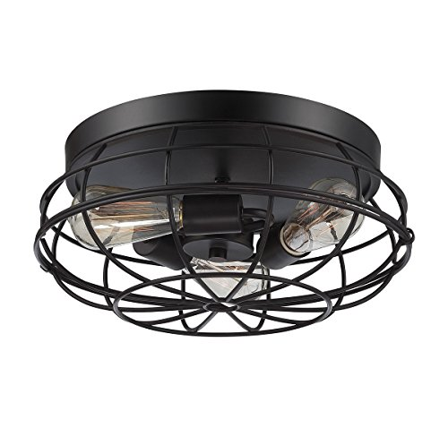 Savoy House 6-8074-15-13 Scout 3-Light Flush Mount in English - Mount English