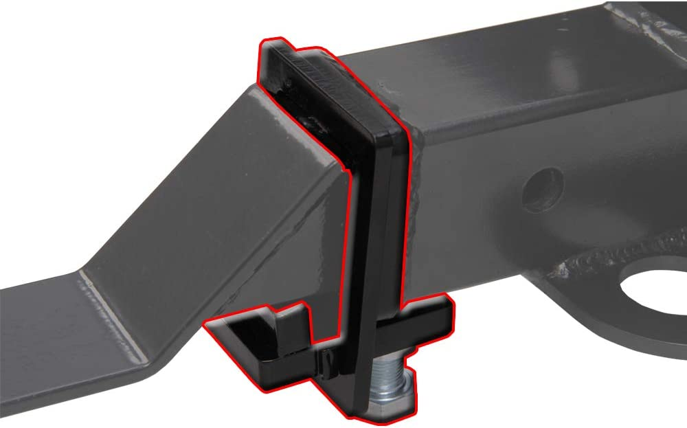 NIXFACE 2 Heavy Duty Hitch Coupling Clamp Anti Rattle Device Tightener Receiver