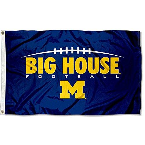 (Michigan Wolverines UM University Large College Flag)
