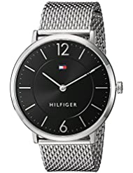 Tommy Hilfiger Mens Sophisticated Sport Quartz Stainless Steel Watch, Color:Silver-Toned (Model: 1710355)