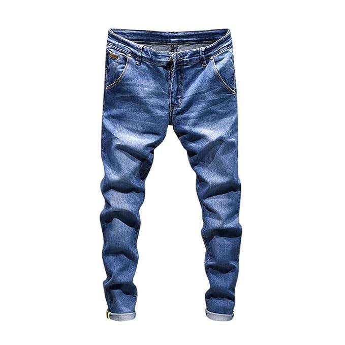 7374040810 2018 Nuevos Pantalones Vaqueros Hombres