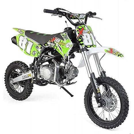 60% de réduction en ligne factory Dirt bike 125cc 4T Racing 14/12, moto de cross pour enfant ...