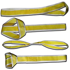 Provide a safe and secure tow using our Soft Loop Tie Down Straps - perfect for securing cargo to your Car, Truck, Van, SUV, RV, ATV, and UTV.