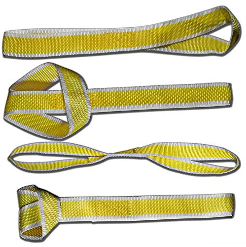 Motorup America Tie Down Straps (Pack of 4) for PowerSports ATV, UTV, Scooters & Bikes Etc.