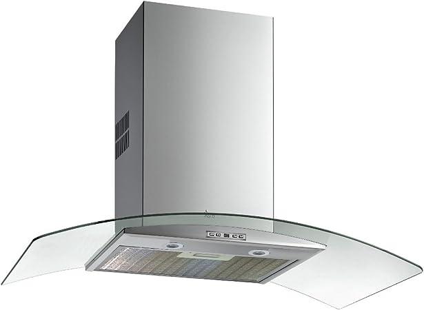 Teka NC 985 De pared Acero inoxidable 807m³/h A - Campana (807 m³/h, Canalizado, A, A, C, 68 dB): 209.9: Amazon.es: Grandes electrodomésticos