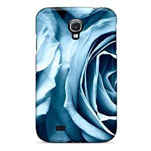 New Style Mialisabblake Blue Roses Widescreen Premium Tpu Cover Case For Galaxy S4 by icecream design