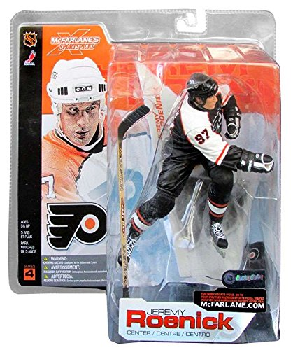 Mcfarlane Toys Nhl Sports Picks (McFarlane Toys NHL Sports Picks Series 4 Action Figure: Jeremy Roenick (Philadelphia Flyers) Black Jersey VARIANT)