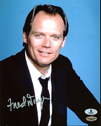 Fred Dryer Hunter Authentic Signed 8X10 Photo Autographed BAS #B03733 (Unite Dryer compare prices)