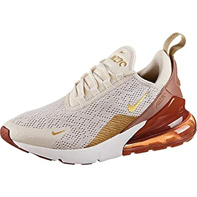 Amazon.com | Nike Women's Air Max 270 Shoes (9.5, Cream