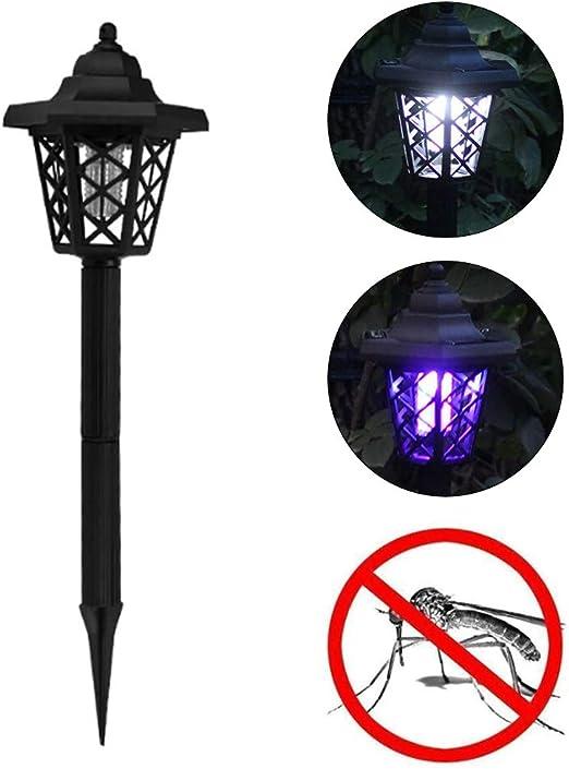 RENNICOCO Lámpara de jardín Solar Repelente de Mosquitos para Exteriores Lámpara de Suelo Lámpara insecticida Lámparas de pie: Amazon.es: Hogar