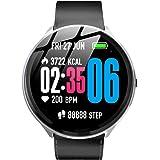 Docooler Kospet V12 Smart Watch 1.3'' 240 * 240 IPS Screen Smart Bracelet BT4.0 Fitness Heart Rate Blood Pressure Sleeping Monitoring Motion Sport Modes Replaceable Strap IP67 Waterproof
