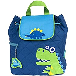 Stephen Joseph Amazon Exclusive Quilted Backpack, Dino