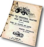 J I Case W3 Industrial Tractor Diesel & Gasoline Parts Catalog Manual 42 Backhoe