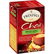 Twinings is an English specialty tea company founded in 1706 and is the favorite choice of tea lovers everywhere. Spiced Apple is a fine black tea perfectly balanced with the flavors of apple and savory spices of cinnamon, cardamom, cloves and ginger
