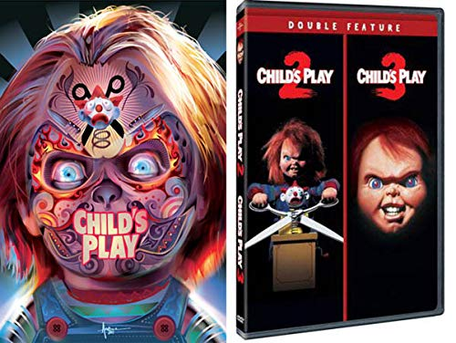 Chucky Wants To Play: Child's Play (Halloween Limited Slip Cover) & Child's Play 2/ Child's Play 3 Movie Bundle]()