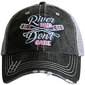 KATYDID River Hair Don't Care Baseball Cap – Trucker Hat for Women – Stylish Cute Sun Hat