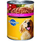 Pedigree Chopped Ground Dinner Dog Food – Beef – 22oz – 12pk – Beef – 22 oz For Sale