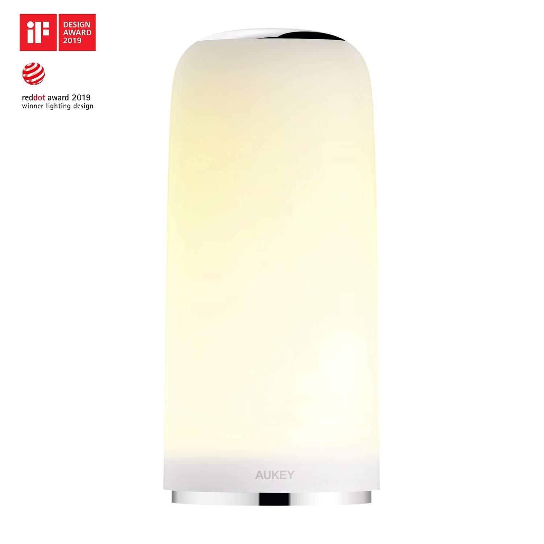 AUKEY Lampada da Comodino con Sensore Touch