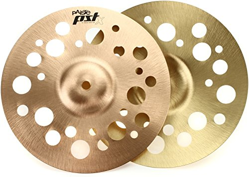 Paiste 10 Inches PST X Swiss Hi-Hat Cymbals