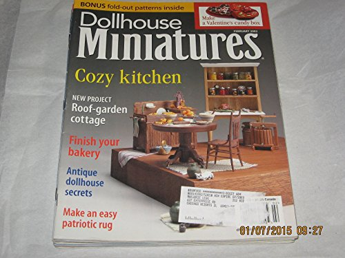Dollhouse Miniatures Magazine February, 2002, Vol., used for sale  Delivered anywhere in USA