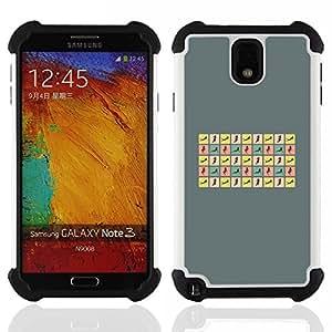 Dragon Case- Dise?¡Ào de doble capa pata de cabra Tuff Impacto Armor h??brido de goma suave de silicona cubierta d FOR Samsung Galaxy Note3 N9000 N9008V N9009- BODY HOUR WOMAN GLASS CURVY POSES SEXY