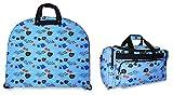 Ever Moda Aquarium Garment and Duffle Bag
