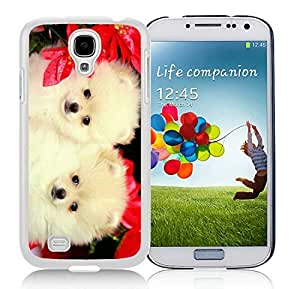 Popular Sell Samsung S4 TPU Protective Skin Cover Christmas Dog White Samsung Galaxy S4 i9500 Case 33
