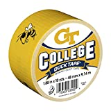 Duck Brand 240295 Georgia Tech College Logo Duct Tape, 1.88-Inch by 10 Yards, Single Roll