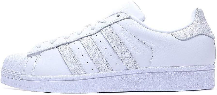 adidas Originals Superstar, Baskets Mixte Adulte Blanc (FtwblaFtwblaFtwbla) 37 13 EU