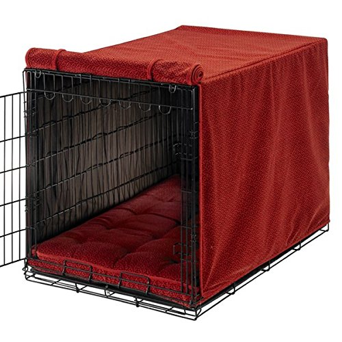 Bowsers Luxury Crate Cover, Small, Cherry Bones