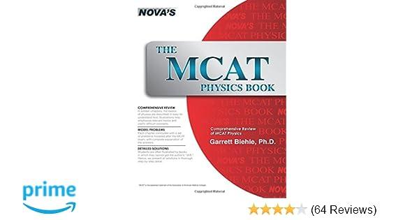 Amazon the mcat physics book 9781889057330 garrett biehle amazon the mcat physics book 9781889057330 garrett biehle books fandeluxe Choice Image