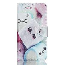 iPod Touch 6th Gen,PU Leather Fold Wallet Pouch Case case Premium Leather Wallet Flip Case for Apple iPod Touch (6th Generation) Case, iPod Touch 5th Gen Case(Cotton candy)