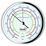 Thomas Traceable Precision Dial Barometer, 1-4hrs Response Time, 954-1073 mbar Pressure, 0.5 mbar Resolution