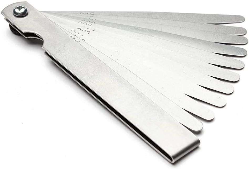 XINGJIJIJIA R/ápidamente 1 Set M/étricas galga de espesores 17//20 Cuchillas 0.02-1.00mm for Las mediciones de Herramientas Ideal Size : 20 Blades