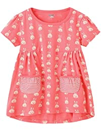 Girls Cotton Casual Dresses