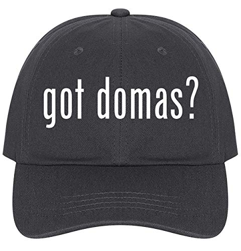 (got Domas? - A Nice Comfortable Adjustable Dad Hat Cap, Dark Grey)