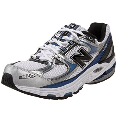 New Balance Men's MR1012 Nbx Motion Control Running Shoe,Silver/Blue,15 D