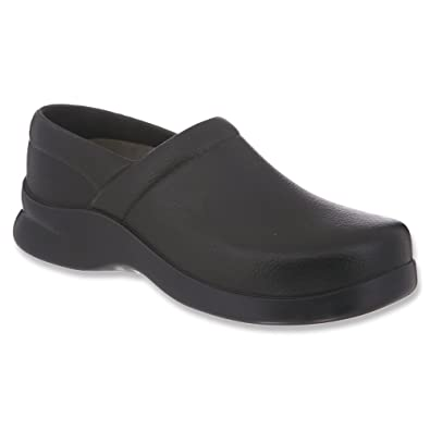 Klogs Men's Bistro Lightweight Black Casual Clog ...