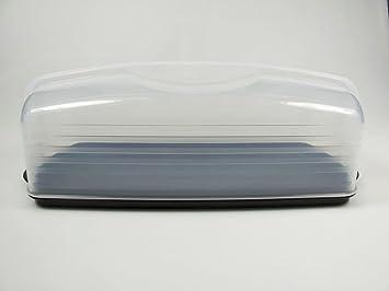Tupperware Konigskuchenbehalter Kuchenform Lang Schwarz Und Neu