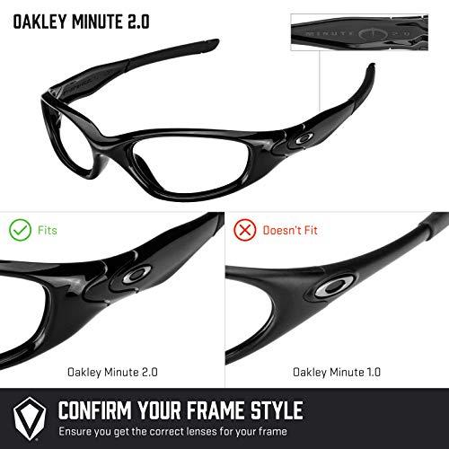 Múltiples 2 Repuesto Mirrorshield Minute — Lentes Verde 0 Para Polarizados Esmeralda Oakley De Opciones nWX7qUz7