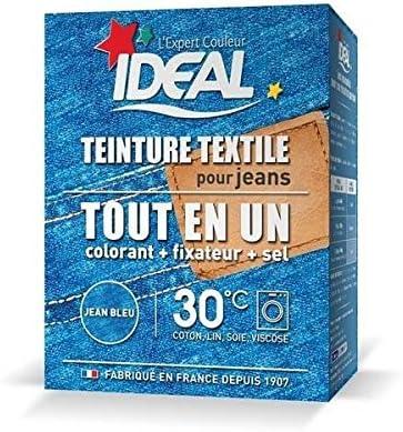 Ideal – Tinte textil polvo todo en un Maxi Jean azul – 350 gr ...
