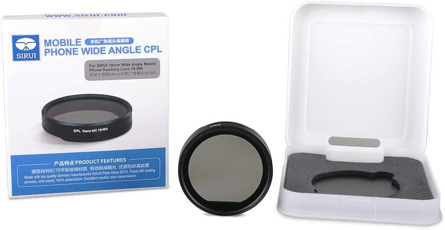 Sirui SU18WACPL 18-WA-CPL Wide Angle Circular Polarizer Filter for Sirui 18-WA Wide Angle Mobile Phone Lens
