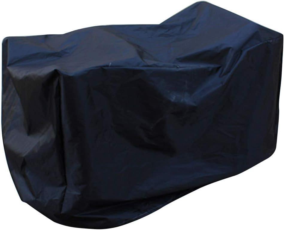 Taglia unica protezione dalla pioggia per bambini resistente ai raggi UV Not null Nero universale. per veicoli elettrici impermeabile FADDARE copriauto per bambini