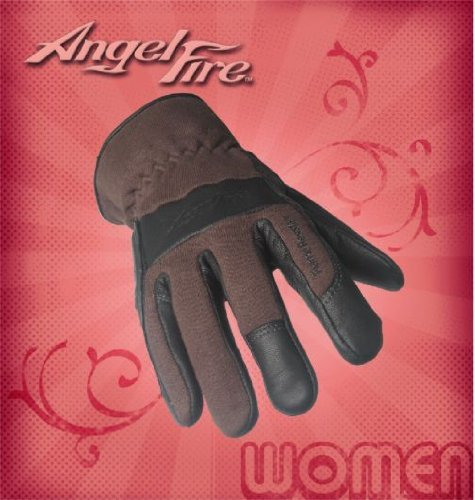 AngelFire Women's TIG Welding Gloves - Chocolate, Size X-Small by Black Stallion